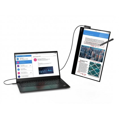 ThinkVision M14t USB-C Mobile Monitor with Touch Screen