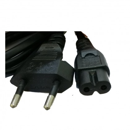 2 Pin Power Cable Without Fuse For Notebook / Printer - 1.5M