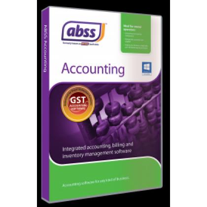 ABSS (MYOB) Accounting Version 28.8 Single User Software ~ FREE SHIPPING  + FREE BITDEFENDER INTERNET SECURITY