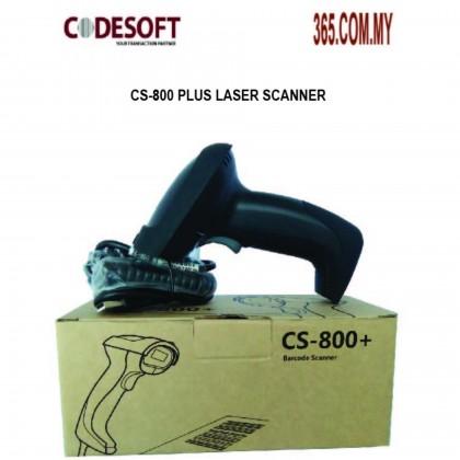 Code Soft CS-800 Plus Laser Scanner KBW/USB/RS232 (read 4mil)