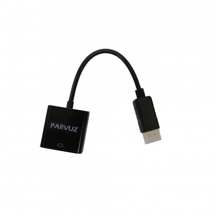 Parvuz Display Port to VGA Converter
