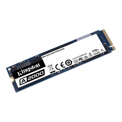 Kingston NVMe M.2 PCIe A2000 1TB/500GB SSD